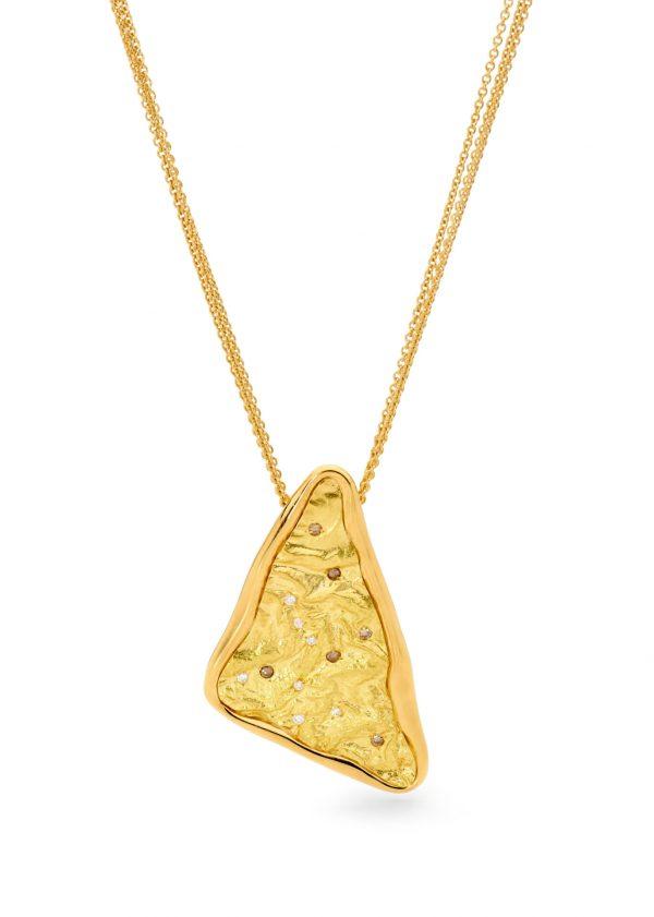 Gold Argyle Diamond Pendant