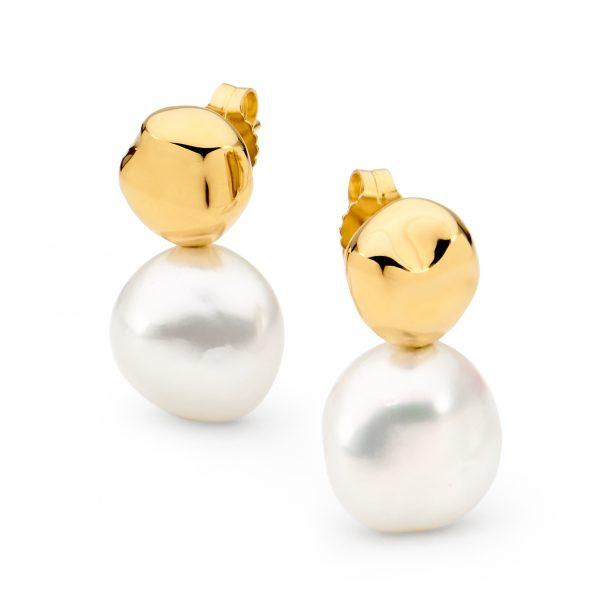 Baroque Keshi Pearl Earrings
