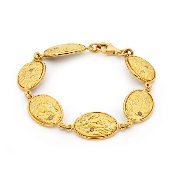 Gold Token Bracelet