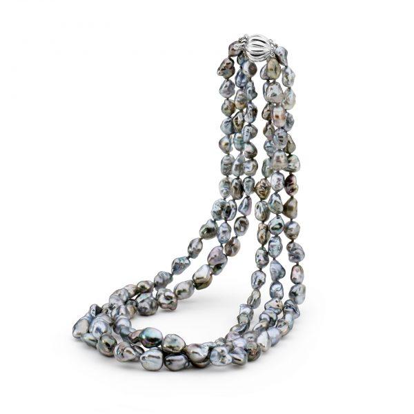 three strand necklace