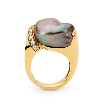 oversized baroque ring